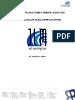 Penawaran Layanan Internet Dedicated UBP Karawang (3)