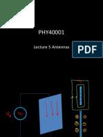Lecture antennas