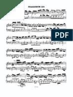 Prelude and Fugue-F# Minor BWV0883