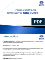 CSR at Tata Motors