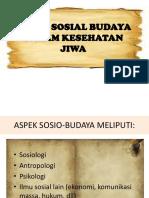 ASPEK_SOSIAL_BUDAYA Dalam Kesehatan Jiwa Efri
