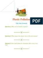 plastic pollution class research