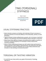 Intro to Twisting (Torsional) Stiffness
