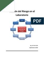 Gestión de riesgos en laboratorios