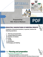Parenteral PPT (Part-3)
