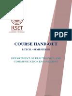 MG university 2010 admision ECE S3 handout