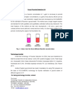 Fluoride detection