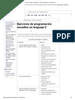 Cartagen Programacion en Lenguaje c