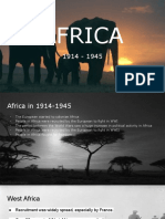 africa 1914-1945