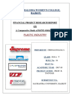 Ratio analysis in plastic industry.docx