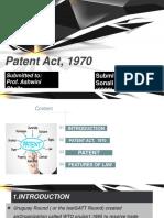 Patent Act, 1970
