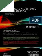 enterocolitis necrotizante quirurgico