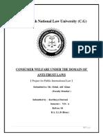 Competition Law - Kartikeya Durrani