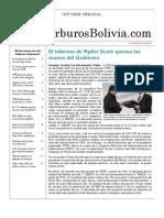 Hidrocarburos Bolivia Informe Semanal Del 25 Al 31 Oct 2010