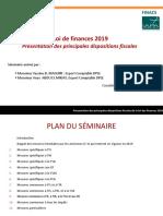Séminaire LF 2019