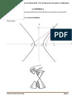La Hiperbola -Superficies Cuadraticas o Cuadricas - Colminacion Geometria 2