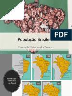 População Brasileira - Formação Histórica Dos Espaços (1)