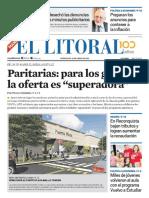 El Litoral Mañana 10-04-2019