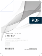LG Commercial LY560M Owners Manual