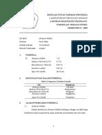 FORMULA 3. Atropin Sulfat