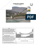 Guidelines of Suspension Bridges Final