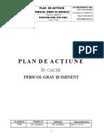 Plan Acțiune - Pericol Grav Și Iminent