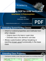 verification Academy-  UVM OOP basics