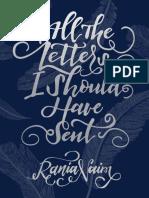 Naim, Rania - All the Letters I Should Have Sent.epub