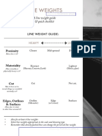 Line Weights for Architecture Guide and Checklist by Portico