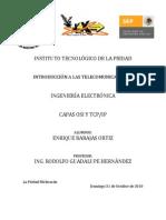Capas OSI y TCP-IP