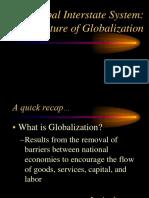 Global Interstate System. a Struture of Globalization (1)