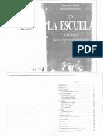 Dubet y Martuccelli