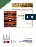 160330 Gestión Minería Sostenible II - COBRE LAS CRUCES (Gestión MInera Sostenible en COBRE LAS CRUCES)