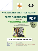 0 Chandigarh Open Fide Rating Money Chess Championship 2019