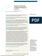 effectiveness of earplug on preventing NIHL.pdf