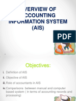 Chapter 1 Introduction to Accounting Information System