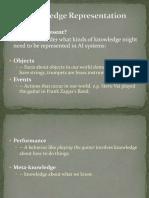 Unit II Knowledge Representation