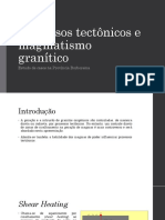 Processos tectônicos e magmáticos graníticos