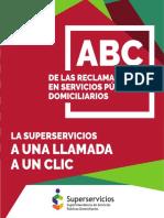 ABC Reclamaciones en servicios públicos