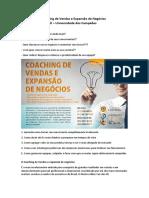 Coaching de Vendas e Expansão de Negócios