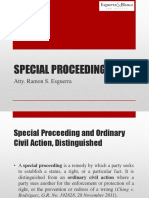 Special Proceedings RSE