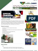 Como Fazer Um Chimarrão - Somosdosul.com.Br