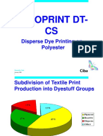 Disperse Printing