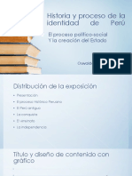 Historia y Proceso de La Identidad de Perú