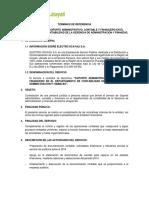 TÉRMINOS DE REFERENCIA SOPORTE ADMINISTRAT- -2014- VERSIÓN FINAL.doc