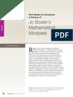 21 Rich Maths Review