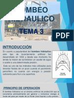 TEMA 3 Bombeo Hidraulico