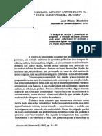 Pós-modernidade - método, atitude diante da vida....pdf