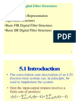 CHAPTER 5 Digital Filter Structure
