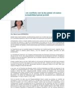Niños y Jovenes en Conflicto Con La Ley Penal. Serradell.